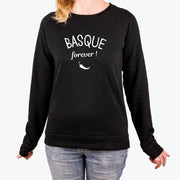 Sweat Basque forever - Femme par T-Pop