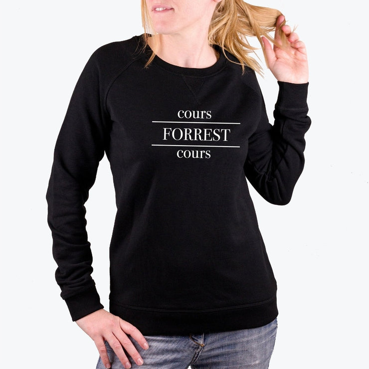 Sweat Cours Forrest - Femme par T-Pop
