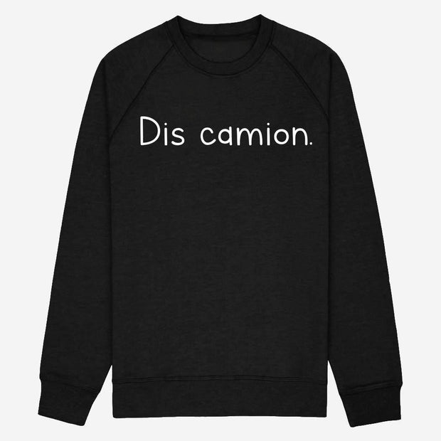 Sweat Dis camion - Homme par T-Pop