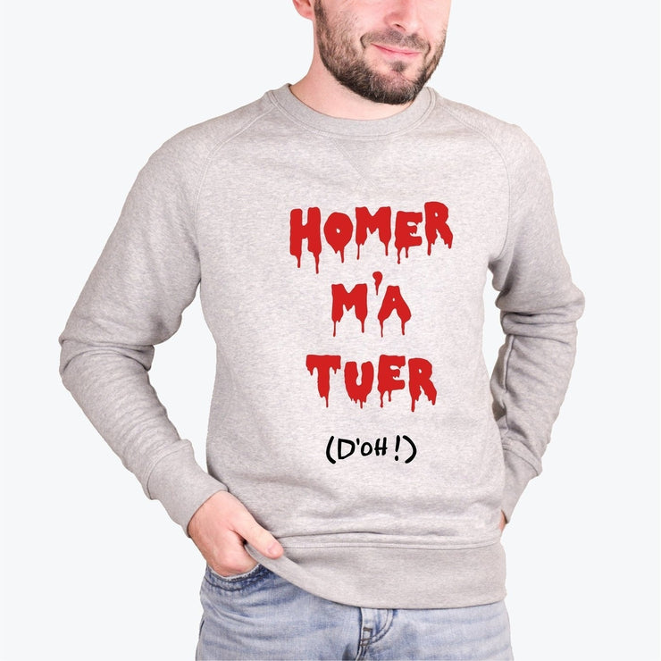 Sweat Homer m'a tuer - Homme par T-Pop