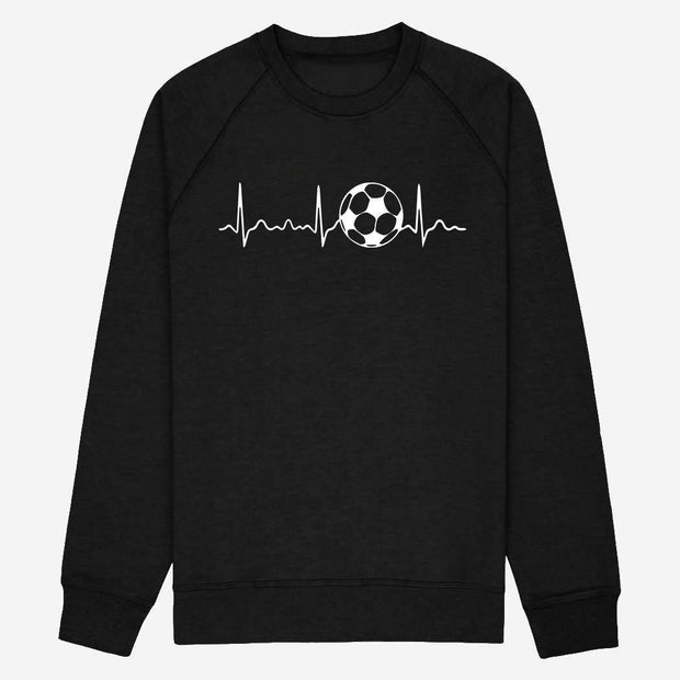 Sweat Ligne de coeur football - Homme par T-Pop