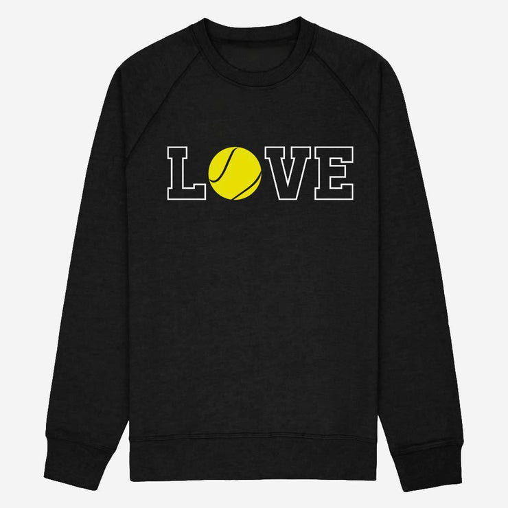 Sweat Love tennis - Femme par T-Pop