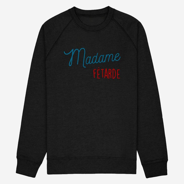Sweat Madame fêtarde - Femme par T-Pop