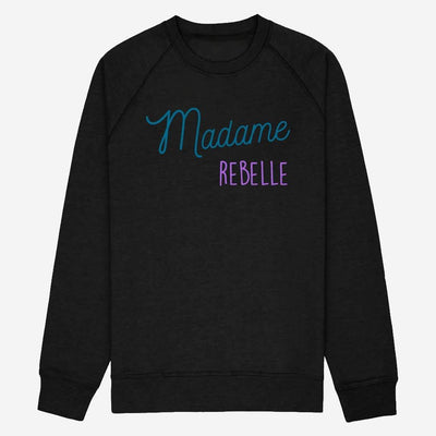 Sweat Madame Rebelle - Femme par T-Pop