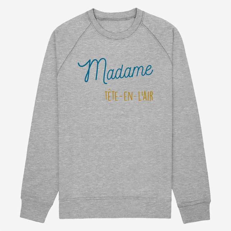 Sweat Madame tête-en-l'air - Femme par T-Pop