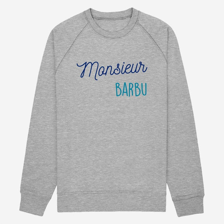 Sweat Monsieur Barbu - Homme par T-Pop