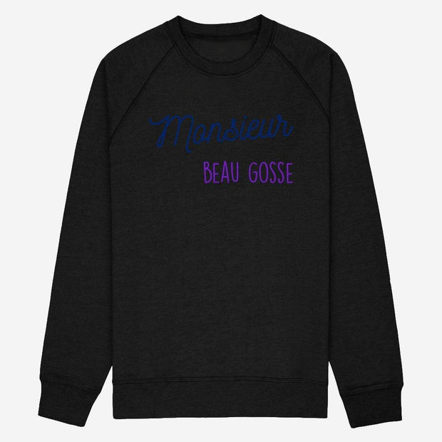 Sweat Monsieur Beau gosse - Homme par T-Pop