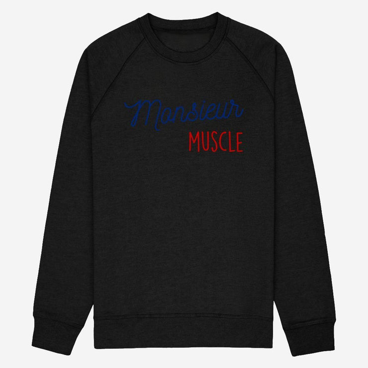 Sweat Monsieur Muscle - Homme par T-Pop