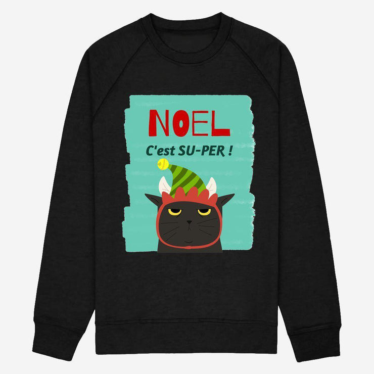 Sweat NOEL c'est super - Femme par T-Pop