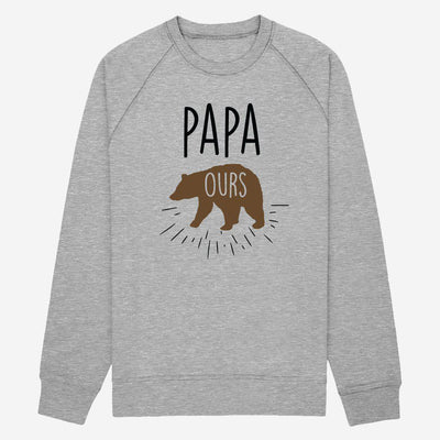 Sweat Papa Ours - Homme par T-Pop