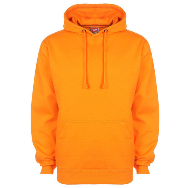 Sweat-shirt à capuche personnalisé - Unisexe - Orange par T-Pop