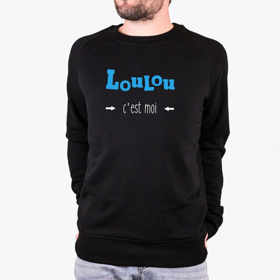 Sweat-shirt Loulou - Homme par T-Pop
