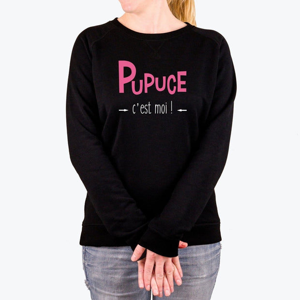 Sweat-shirt Pupuce - Femme par T-Pop