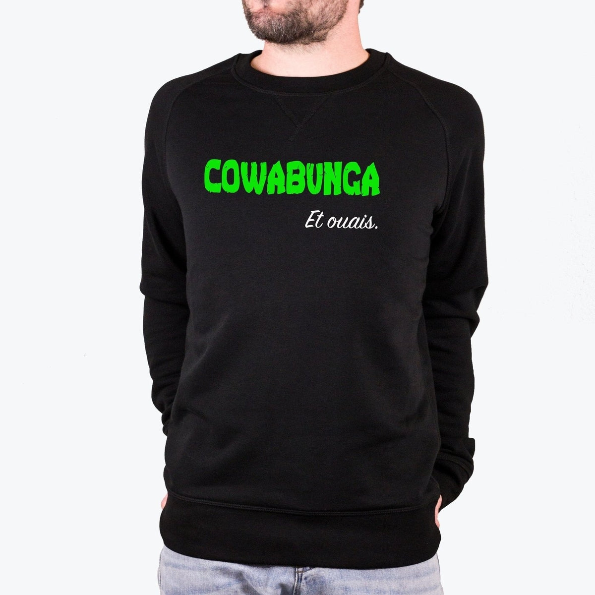 Sweat Tortues Ninja Cowabunga - Homme - S - TPop
