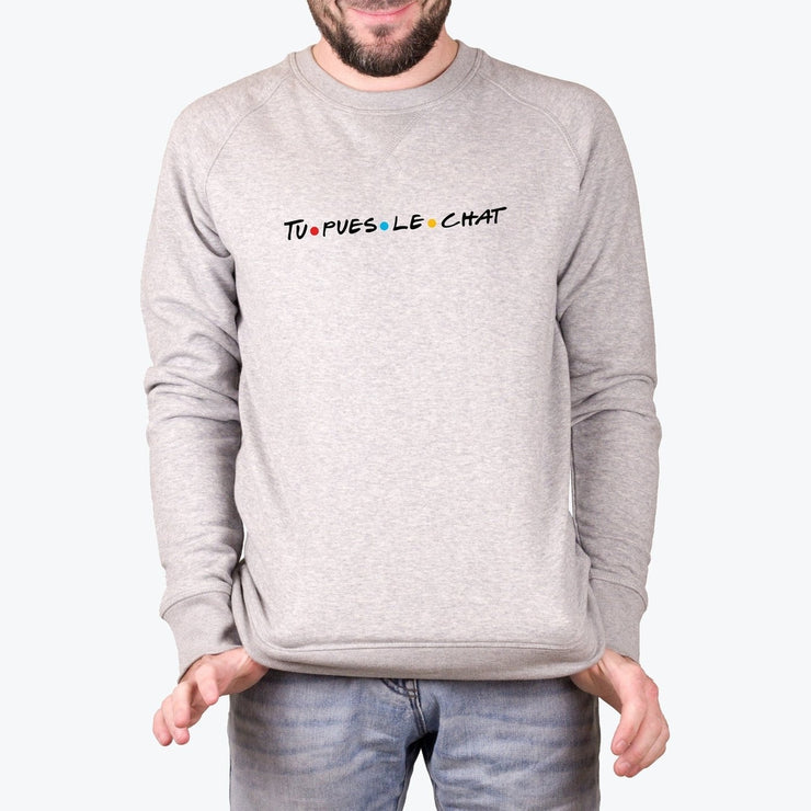 Sweat Tu pues le chat - Homme par T-Pop