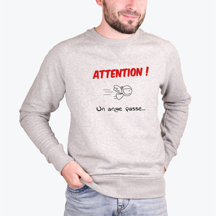 Sweat Un ange passe - Homme par T-Pop