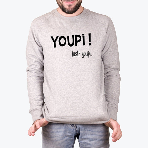 Sweat Youpi - Homme par T-Pop