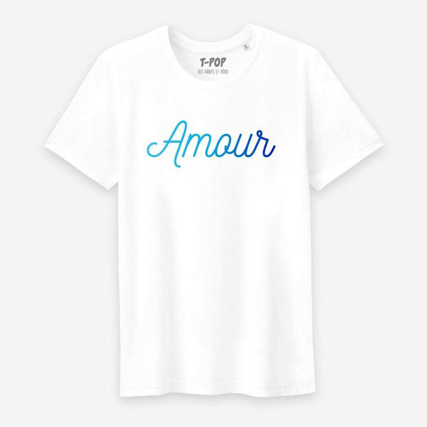 T-shirt Amour - Homme par T-Pop