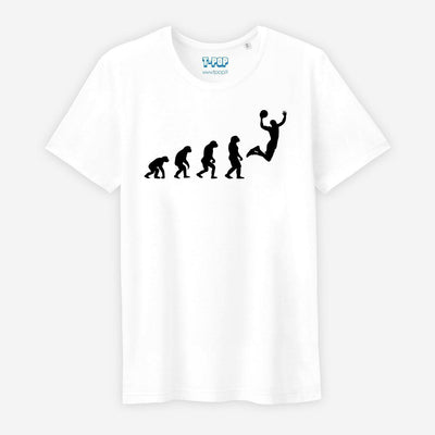 T-shirt Evolution basket - Homme par T-Pop