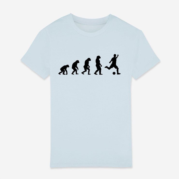 T-shirt Evolution football - Garçon par T-Pop