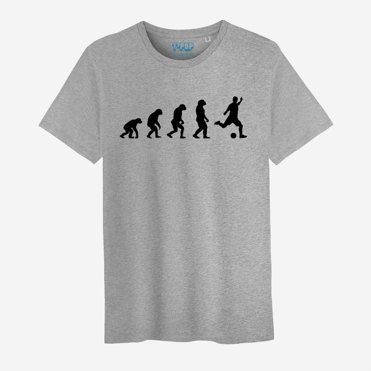 T-shirt Evolution football - Homme par T-Pop