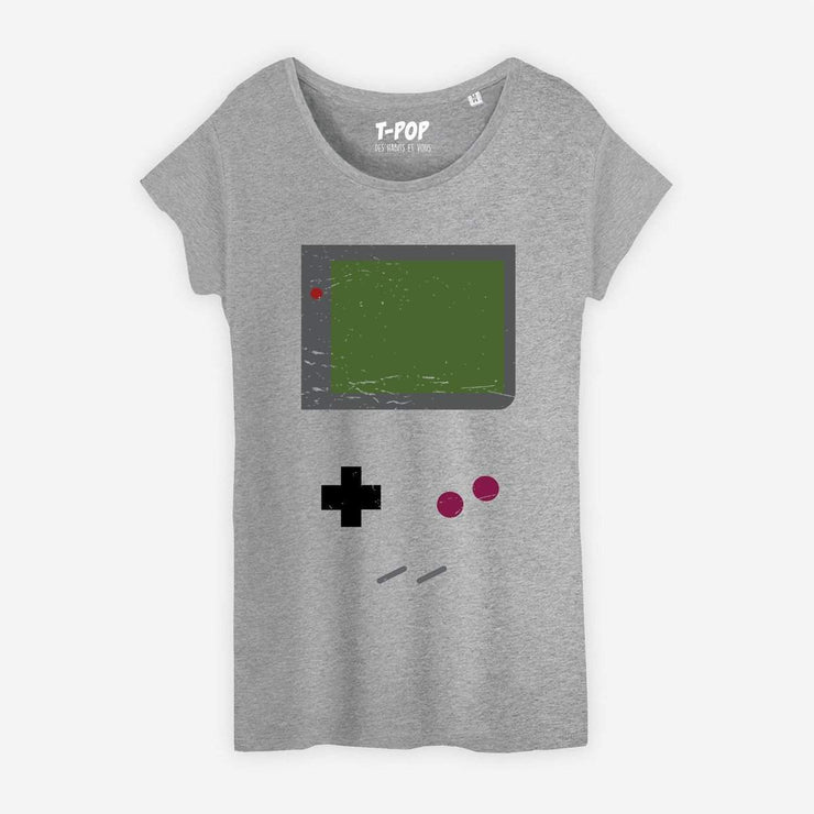 T-shirt Game boy - Femme par T-Pop