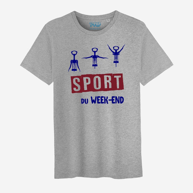T-shirt Sport du week-end- Homme par T-Pop