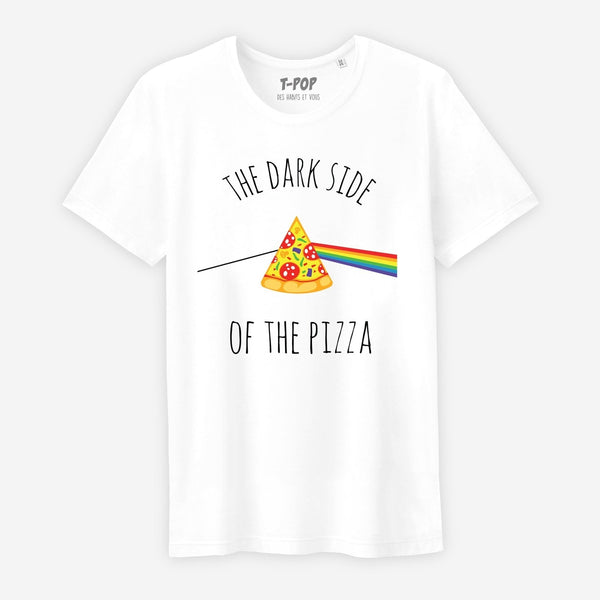 T-shirt The dark side of the pizza - Homme - TPop