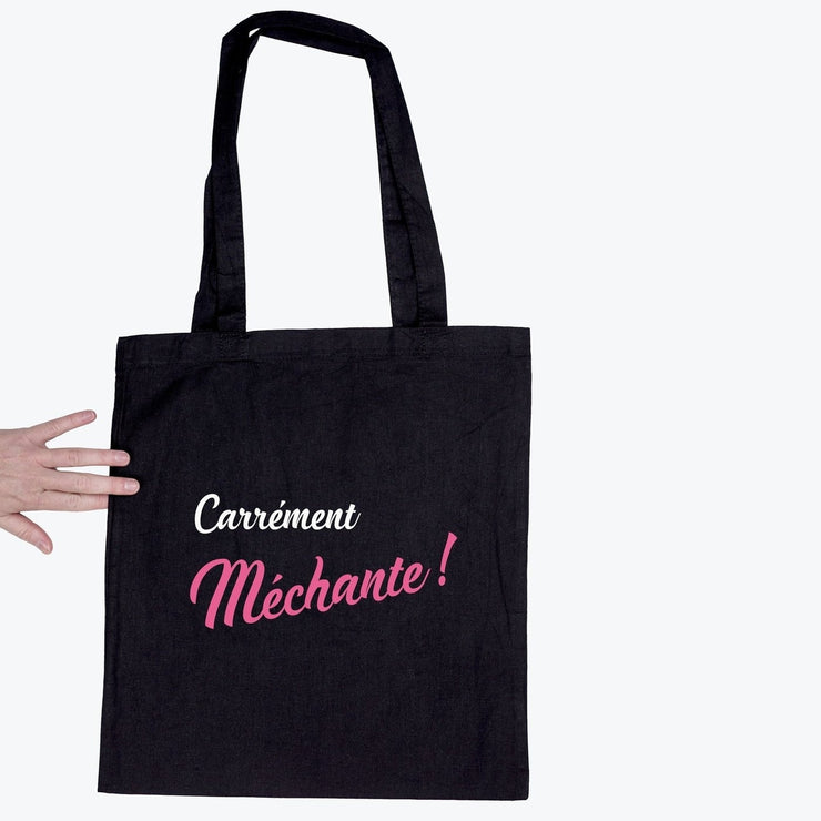 Tote bag Carrément méchante par T-Pop