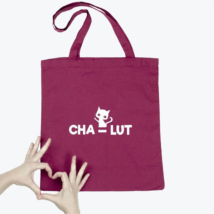 Tote bag Chat - Cha-lut par T-Pop