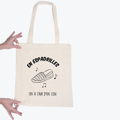 Tote bag En espadrilles par T-Pop