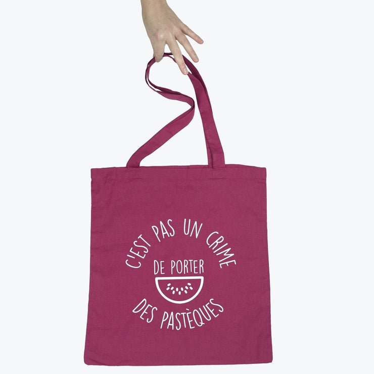 Tote bag Porter des pastèques par T-Pop