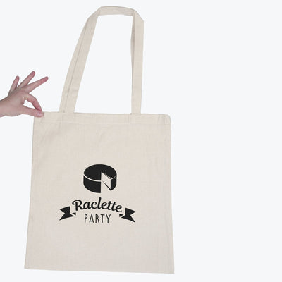 Tote bag Raclette party par T-Pop