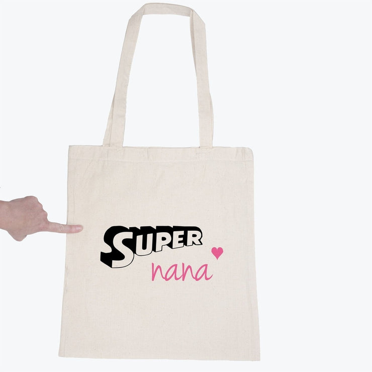 Tote bag Super Nana par T-Pop