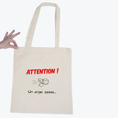 Tote bag Un ange passe par T-Pop