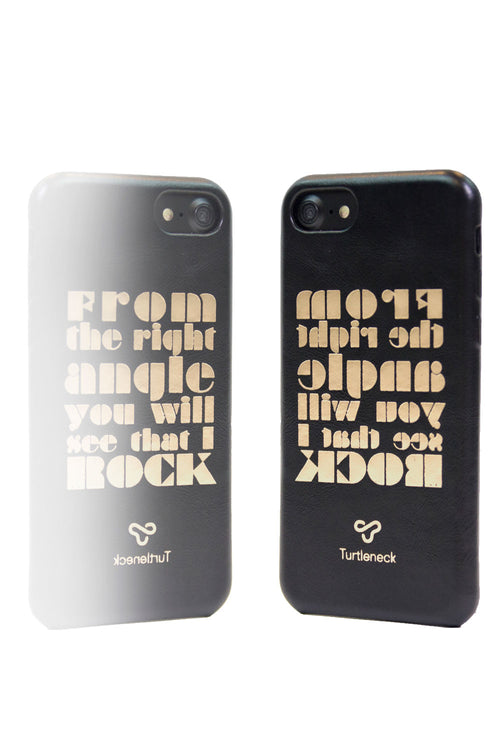PhoneCase by Turtleneck  <br> Mirrored Text