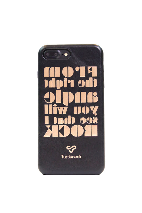 PhoneCase <br> Mirrored Text +
