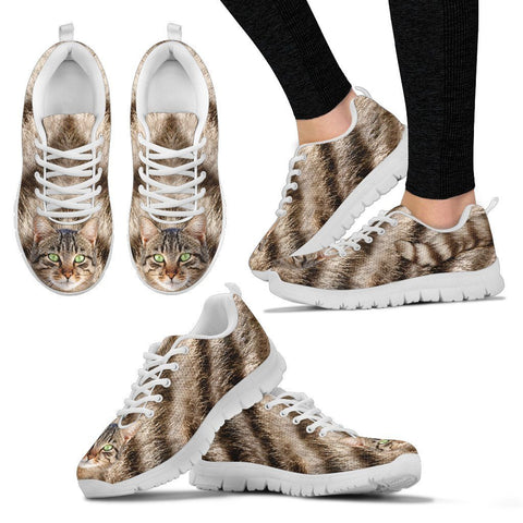 Comfy Tabby Cat Sneakers - Stubborn Cat