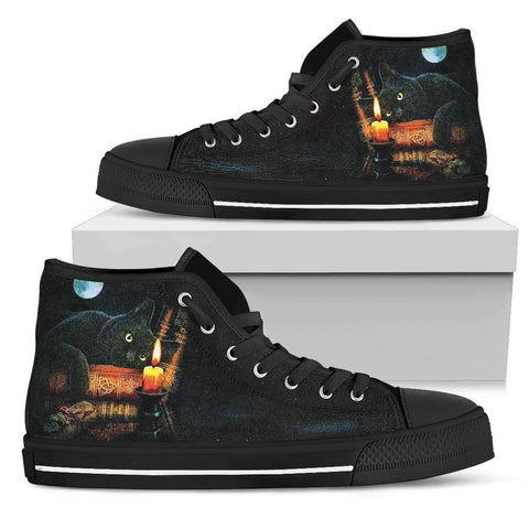 Enchanted Cat High Top Shoes - Stubborn Cat