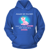 Always Be A Caticorn Hoodie - Stubborn Cat