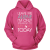 Leave Me Alone Cat Hoodie - Stubborn Cat