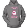 Meow And Furever Cat Hoodie - Stubborn Cat