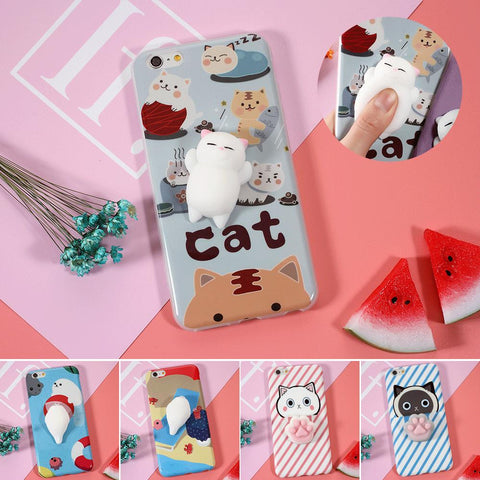 Cute Squishy Cat Phone Cases