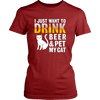 I Just Want To Drink Beer Cat Tee - Stubborn Cat
