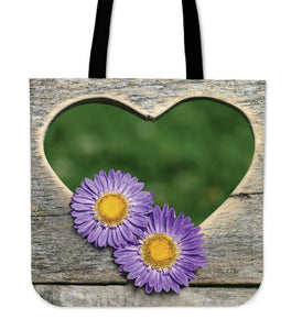 Heart Window Tote Bag - Nice & Cool
