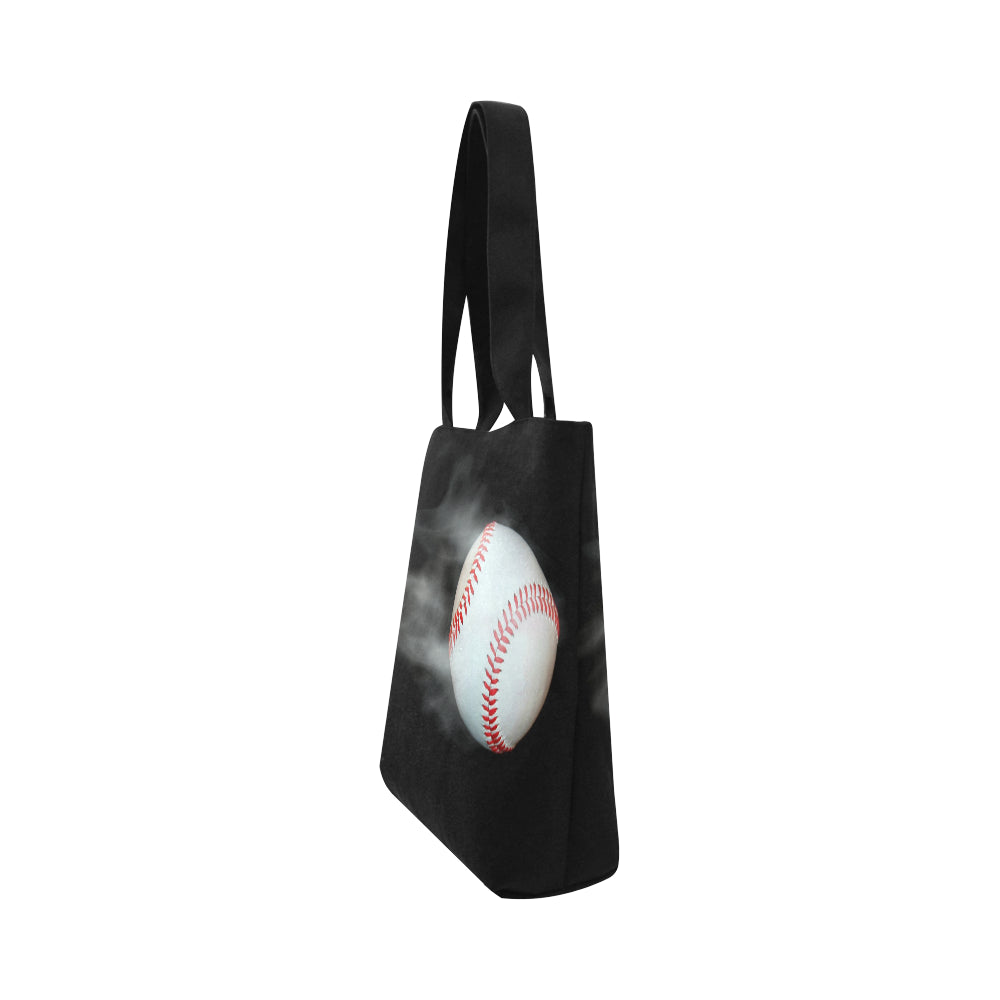 Smoking Baseball Canvas Tote Bag - Nice & Cool