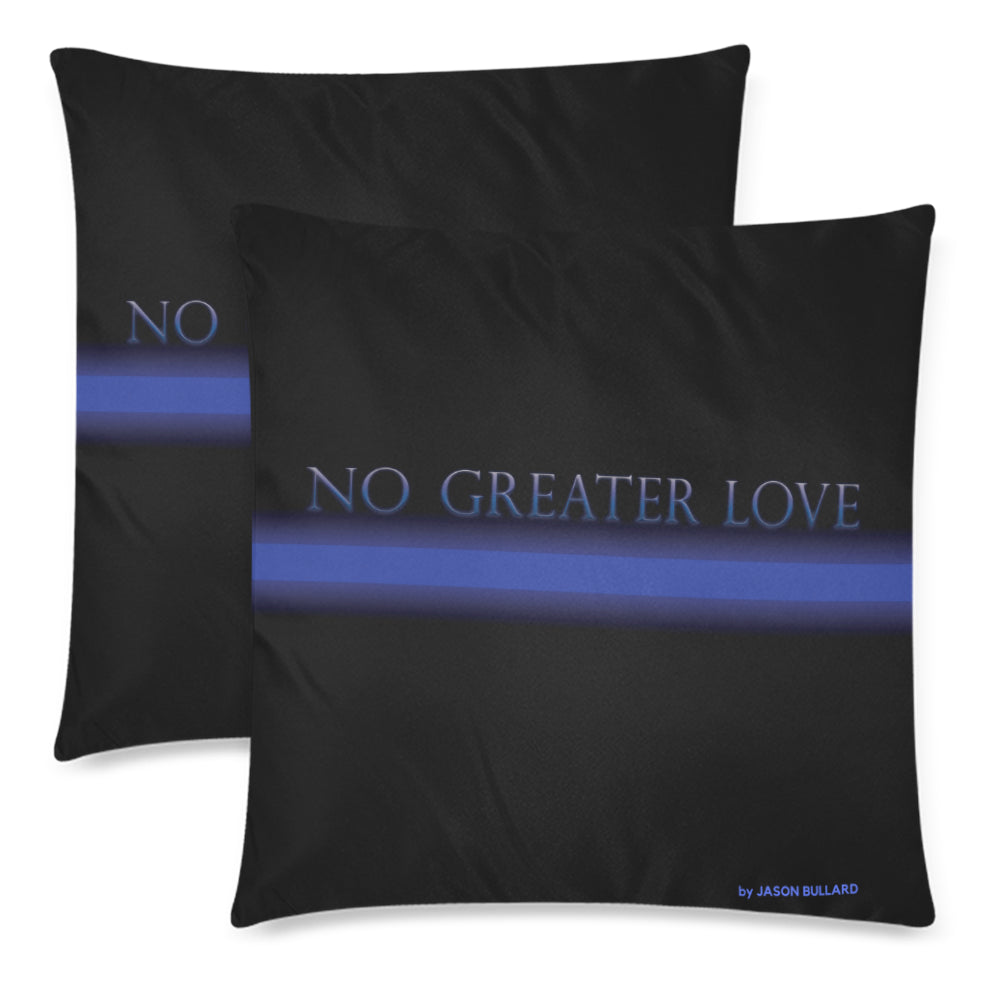 NO GREATER LOVE Pillow Cover - Set of 2 pcs - Nice & Cool