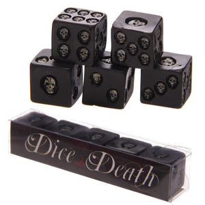 Dice with Death - 5 pcs/set - Nice & Cool