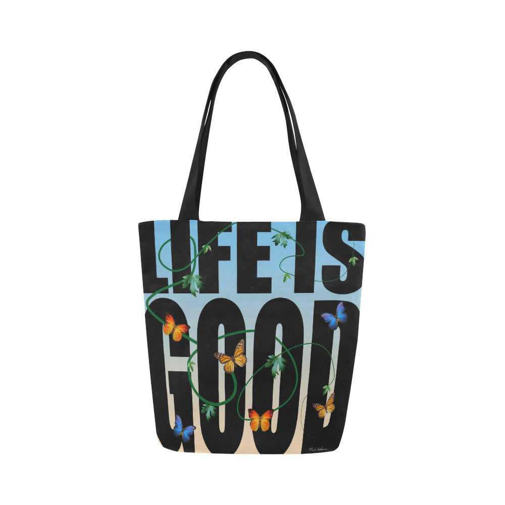 Life Is Good Canvas Tote Bag - Nice & Cool