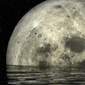 Super Moon Wall Art Canvas - Nice & Cool